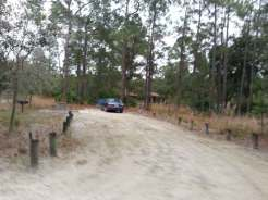 Moss Park Campground near Orlando Florida Backin